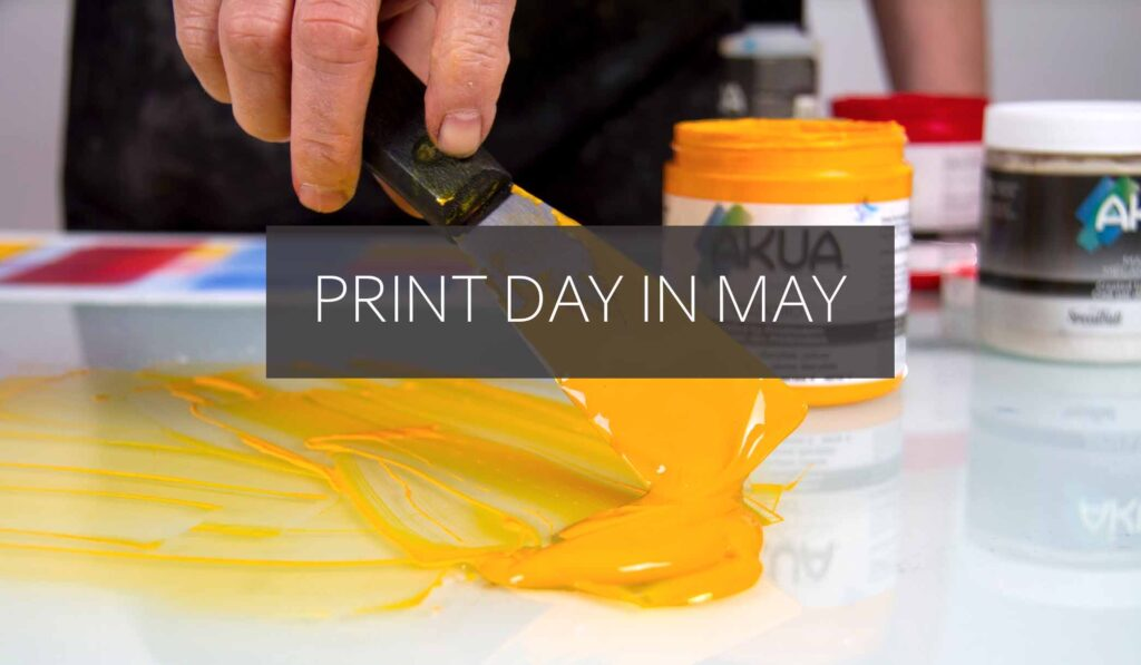 Print Day in May