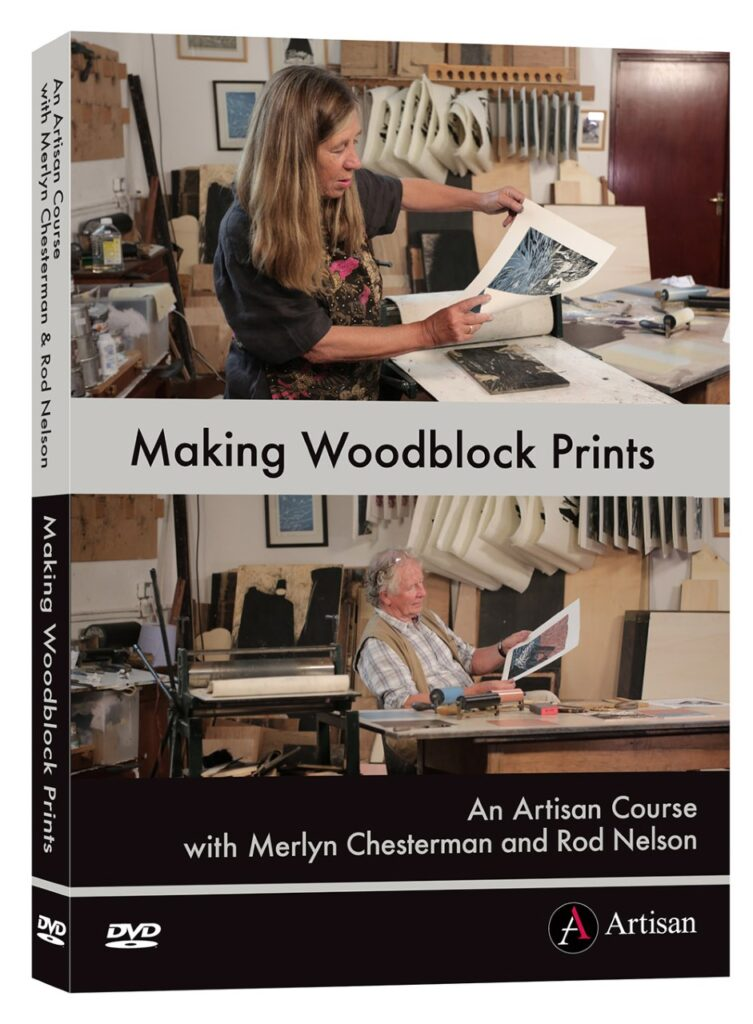 Making Woodblock Prints by Rod Nelson and Merlyn Chesterman is now available on DVD or download. Written by Sarah Edmonds Marketing